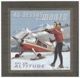 Au Dessus des Monts Posters by Bruno Pozzo