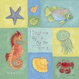 Dreams As Big As The Ocean Prints by Stephanie Marrott