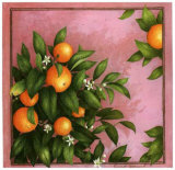 Oranges Poster by Vincent Jeannerot