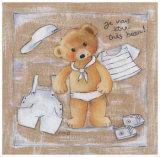 Je Vais Etre Tres Beau! Prints by Joëlle Wolff