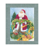 Kris Kringle Print by Dawna Barton