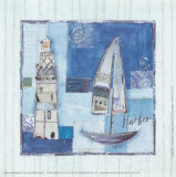 Harbor Prints by Katherine &amp; Elizabeth Pope