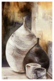Vases Gris Posters by  Clauva