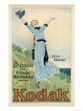 Kodak Advert 1913 Giclee-trykk