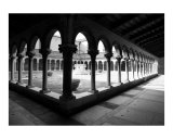 Courtyard of Arches at San Michele Photographic Print by Donna Corless