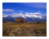 Teton Ranch Photographic Print by Mike Norton