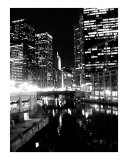 A view down the Chicago River Photographic Print by Jason F Wolf