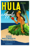 Hula Apples Masterprint