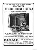 Your Easter Holiday Will Last You Twice as Long if You Take a Kodak with You Giclee Print