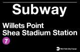 Subway Willets Point- Shea Stadium Station Panneaux & Plaques