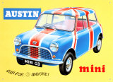 Mini GB Plåtskylt