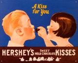Hershey's Kiss for You Plaque en métal