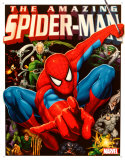 Spider-Man And His Foes Tin Sign