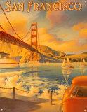 Puente Golden Gate Cartel de chapa