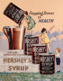 Hershey&#39;s Syrup Tin Sign