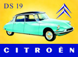 Citroen DS Tin Sign