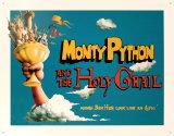 Monty Python, sacré Graal Plaque en métal