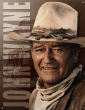 John Wayne - coach Plaque en m&#233;tal
