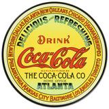 Coca-Cola - Metal Tabela