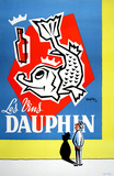 Les Vins Dauphin Collectable Print by Tilyjac