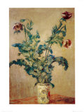 Purple Poppies Prints by Claude Monet