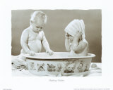 Bathing Babies Prints