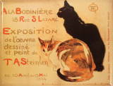 Cats Tin Sign