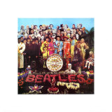 The Beatles - Sgt. Pepper&#39;s Lonely Hearts Club Band Print