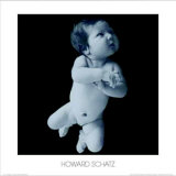 Floating Baby Poster by Howard Schatz