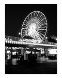 The ferris wheel at Navy Pier Photographic Print by Jason F Wolf