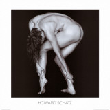 Nude Touching Ankles Print by Howard Schatz