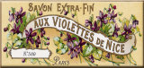 Savon Extra-Fin Cartel de chapa
