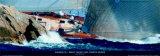 Kauris II - Maxi Yacht Cup, Porto Cervo Art by Carlo Borlenghi