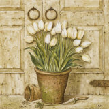 Potted Tulips I Posters by Eric Barjot