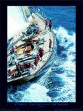 Antonisa - Maxi Yacht Cup, Porto Cervo Print by Carlo Borlenghi