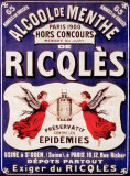 Ricqles Tin Sign