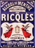Ricqles Cartel de chapa
