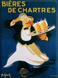 Affiche Bières de Chartres Plaque en métal