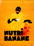 Nutri Banane Tin Sign
