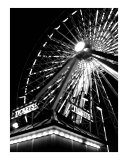 Tickets for the Ferris Wheel Photographic Print by Jason F Wolf