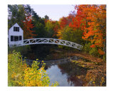 Selectments Building Bridge, Somesville, Mount Desert Island Photographic Print by George Oze