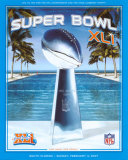 XLI Super Bowl Prints