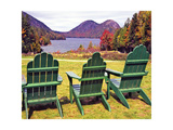 Jordan Pond View, Acadia National Park, Maine Photographic Print by George Oze