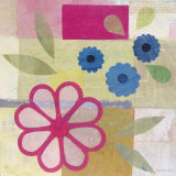 Pink Pattern Flower Posters by Gale Kaseguma