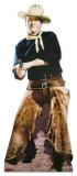 John Wayne with Chaps Lifesize Standup Cardboard Cutouts