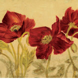 Jacquard Poppies I Prints by Laurel Lehman
