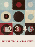Square No. 19 Poster by Jan Weiss