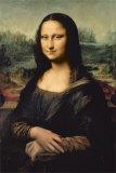 Leonard Da Vinci Mona Lisa Posters