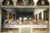 Last Supper Print by Leonardo da Vinci