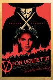 V for Vendetta Plakat
